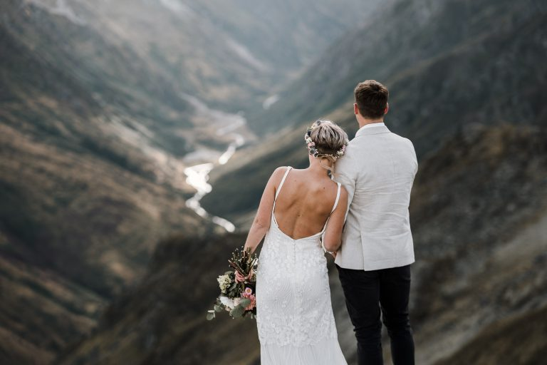 Twin Peaks Wanaka Elopement Wedding